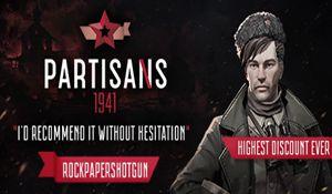 蘇軍游擊隊:Steam特別好評,限時優惠僅32元