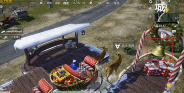 和平精英驯鹿车位置在哪里怎么驾驶