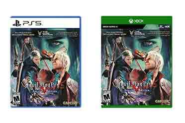 《鬼泣5:特别版》实体版封面公开 12月1日正式发售